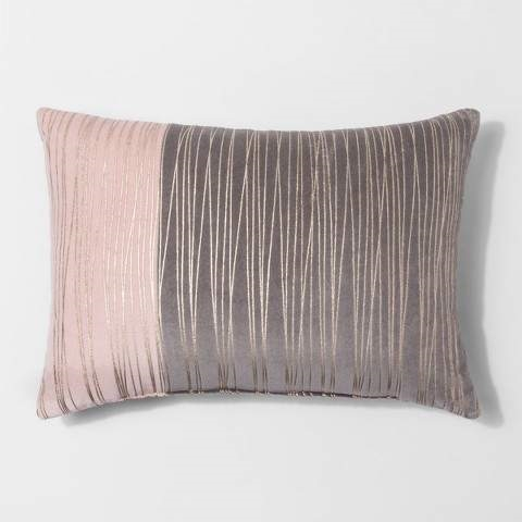 Project 62 Gold Stripe Metallic Lumbar Pillow Shops At
