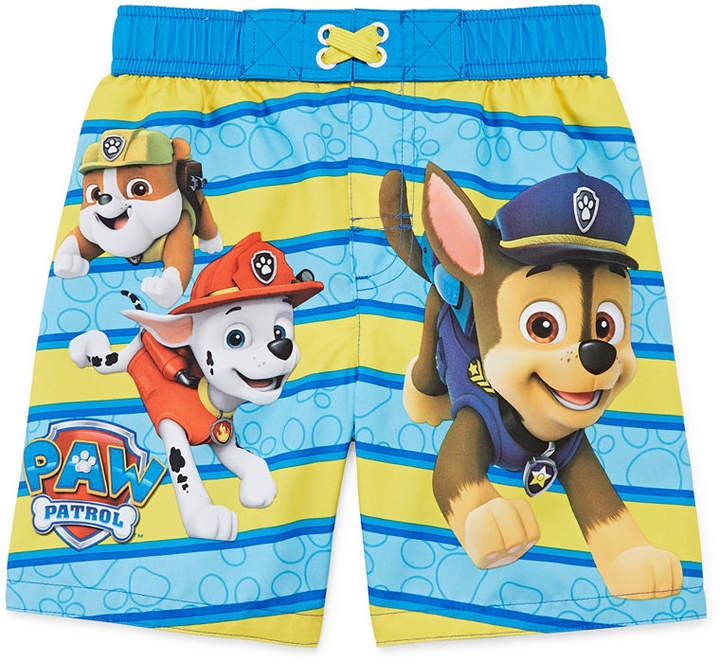 95e6d55d1f1a8 LICENSED PROPERTIES Paw Patrol Swim Trunks - Toddler Boys - Northpark
