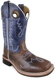 535be15b1d1fb SMOKY MOUNTAIN Smoky Mountain Kid s Delta Crackle Waxed DistressLeather Cowboy  Boot