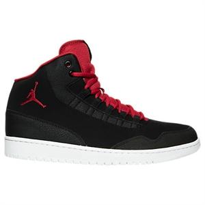 90b948db915 Nike Men's Air Jordan Executive Off-Court Shoes, Black/Red