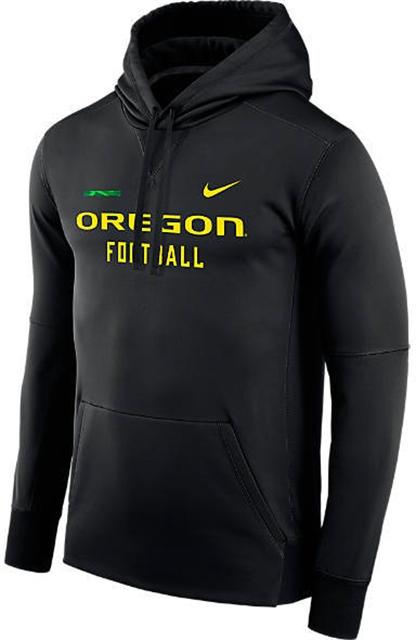 NIKE TEAM Men s Nike Oregon Ducks College Therma Hoodie - Yorktown 8bdd50d21a33