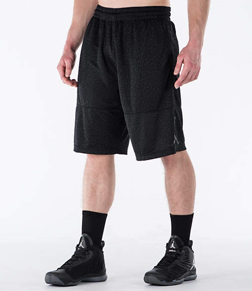 39a0198db62 Men's Air Jordan Elephant Print Blockout Basketball Shorts - Northpark