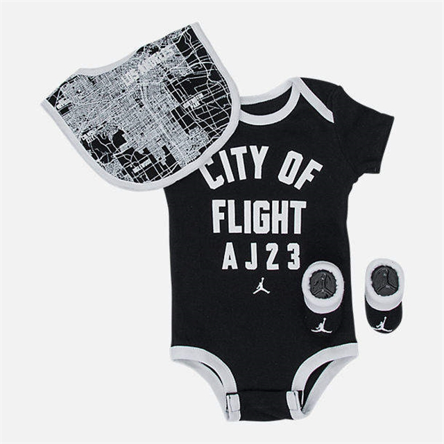 6ffd74ae6ec637 Boys  Infant Air Jordan City of Flight 3-Piece Set - Yorktown