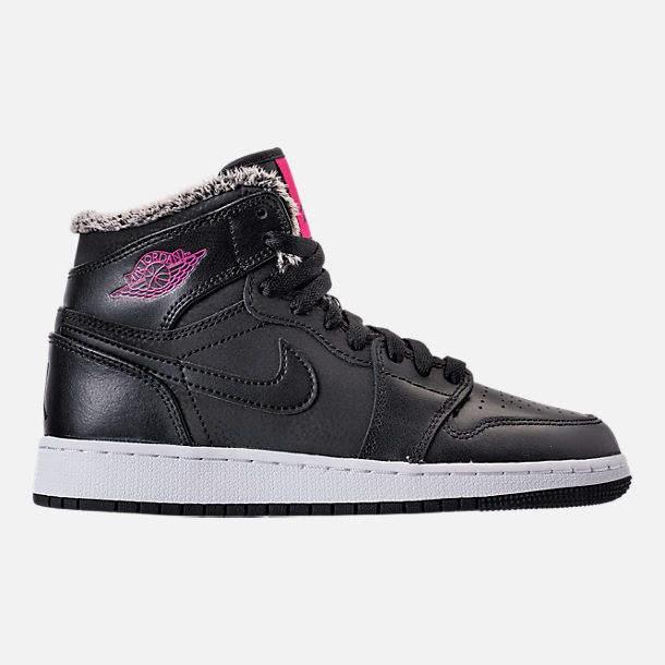 b7b0f8348a15 Girls  Grade School Air Jordan Retro 1 High (3.5y-9.5y) Basketball Shoes