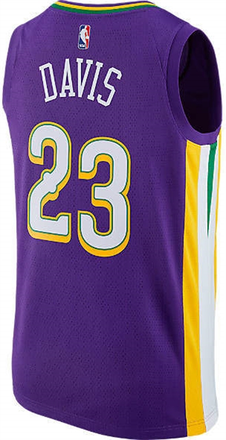 Men s New Orleans Pelicans NBA Anthony Davis City Edition Connected Jersey  - Northpark 7bf954d26