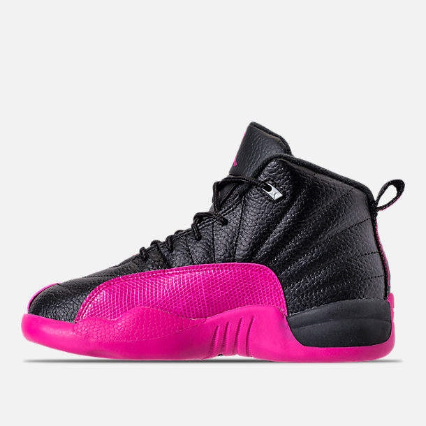 ... Girls Preschool Jordan Retro 12 Basketball Shoes ... 22d587197