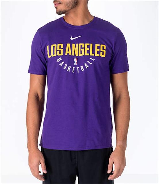 3d9263a0e Men s Los Angeles Lakers NBA Dry Practice T-Shirt - Northpark