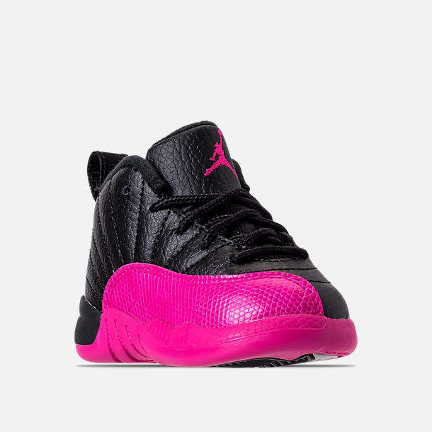 huge discount 644fc 4f9fd Girls' Toddler Air Jordan Retro 12 Basketball Shoes - Northpark
