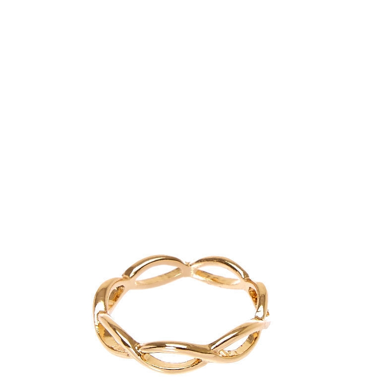 1a1f28a624f Claire s Gold-Tone Infinity Ring Gold - Northpark