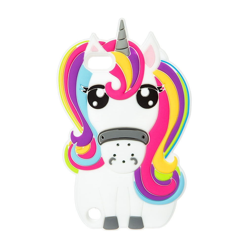 buy popular b558d 04a0a Claire's Magical Sound Unicorn iPod Case - iPod Touch 5* Rainbow ...