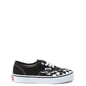 e4985ba066 Vans Authentic Checkered Flame Skate Shoe - Little Kid