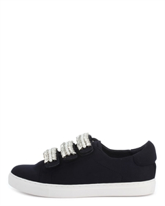 HILEO Embellished Straps Sneakers