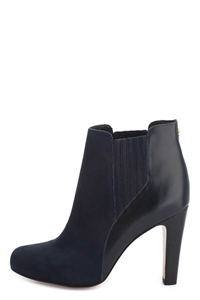 JELI Leather Ankle Boots