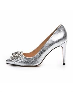 MANIFIKA Bejeweled Heels