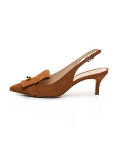 JERI/NUB Sling-back Heels