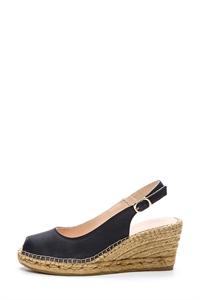 LIVANA Sling-back Espadrille Wedged Sandals