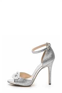 JAY Ankle Strap Statement Heeled Sandals