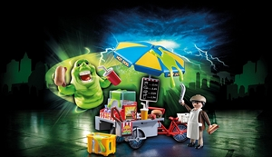 Ghostbuster - Slimer with Hot Dog stand