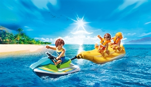 Personal Watercraft with Banana Boat