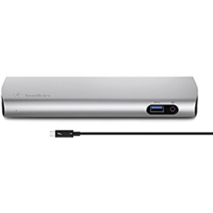 BELKIN THUNDERBOLT 3 DOCK,W/0.5M CABLE