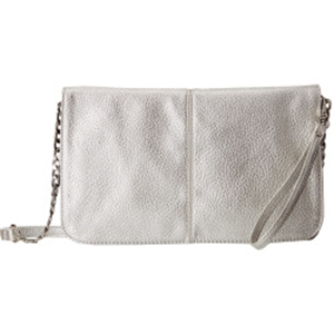MightPurse Flap with 4000mAh Battery - Metallic Silver