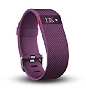 Fitbit Charge HR Wristband  - Plum - L Size
