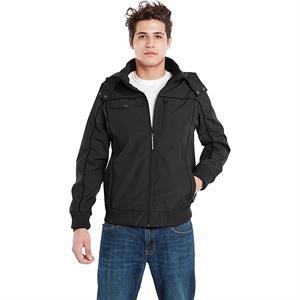 BAUBAX Bomber Travel Jacket for Male - Black - L Size