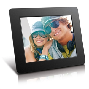 """Lifestyle 8"""" Digital Frame 512MB Touch Button - BLK"""