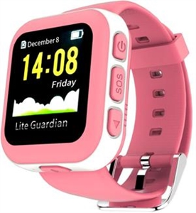 Castel Beidou GPS Kid Tracking Watch - Pink