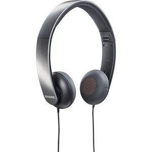 Shure SRH145 Portable Collapsible Headphones with Mic