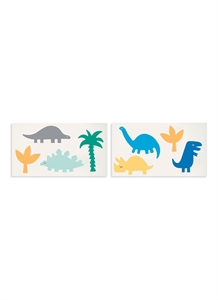 Dinosaurs temporary tattoos