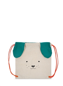 Dog canvas backpack