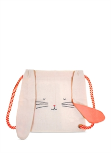 Bunny canvas backpack