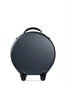 Round carry-on spinner suitcase – Dark Green