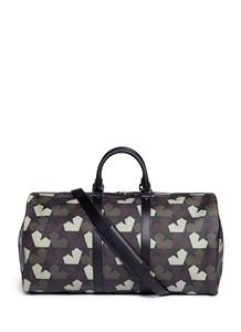 'Star Camo' print duffle bag