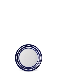 Perlée bread and butter plate – Blue