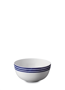 Perlée serving bowl – Blue