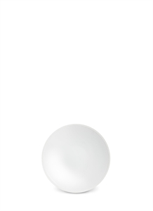 Soie Tressée soup plate − White