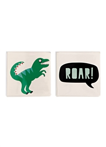 Roar! temporary tattoos