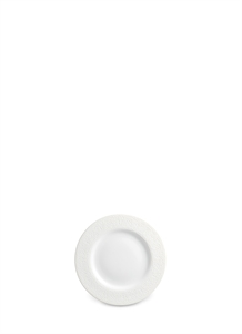 Soie Tressée bread and butter plate − White