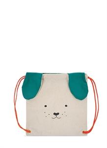 Dog canvas backpack