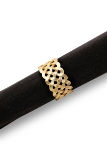 Braid Napkin Ring Set