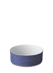 Perlée large deep bowl – Blue