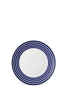 Perlée charger plate – Blue