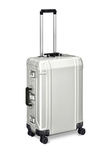 "Geo Aluminium 2.0 24"""" 4-wheel spinner suitcase"