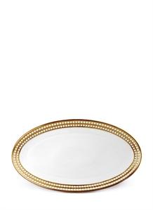 Perlée large oval platter