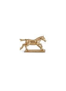 Horse knife and chopstick rest set – Gold