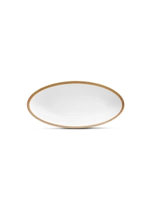 Soie Tressee small oval platter