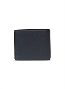 Leather bifold wallet – Dark Blue