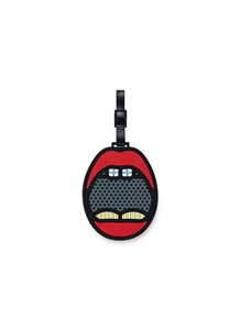 X CRAIG & KARL MOUTH LUGGAGE TAG